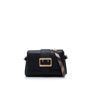 Burberry Soft Grain Smooth Leather Small Crossbody Buckle Bag