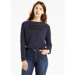 Classic Crewneck Sweatshirt   Nightwatch Blue  Levi's® United States (US)