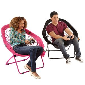 Super-Bungee Chair — Pear shape only from Brookstone!