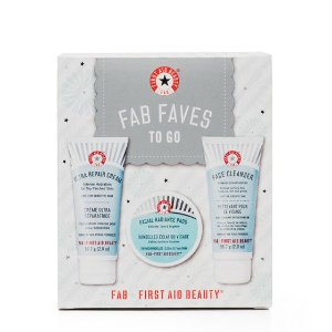FAB Faves to Go Kit | Sensitive Skin Kits | First Aid Beauty - First Aid Beauty