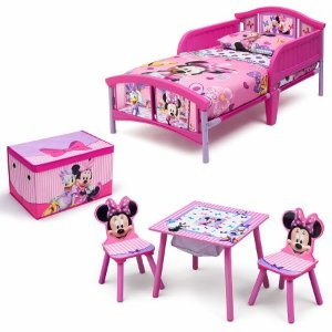 Disney Minnie Mouse Room-in a Box with BONUS Table & Chairs Set - Walmart.com