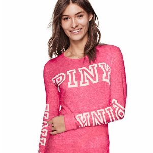 Cozy Jersey Sleep Shirt - PINK - Victoria's Secret