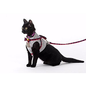 Bestag 英伦风格带遛猫绳的小马甲
