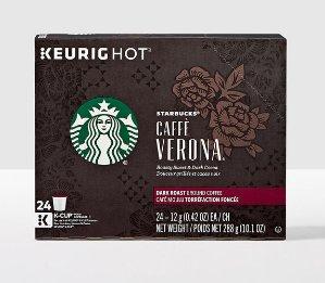 STARBUCKS Caffè Verona K-Cup Pods
