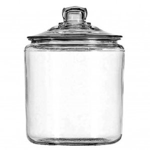 Anchor Hocking 1-Gallon Heritage Hill Jar with Lid, Set of 2 - Mom, Treat Yourself - Sale