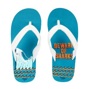 Kid Boy OshKosh Shark Print Flip Flops | OshKosh.com