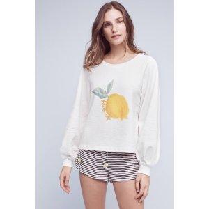 Reveries Printed Sweatshirt | Anthropologie