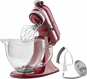 KitchenAid - Tilt-Head Stand Mixer - Empire Red
