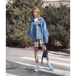 열일하는 파워소매 데님자켓 | 韩国女装NO.1网店 STYLENANDA 中文官网