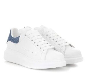 $405ALEXANDER MCQUEEN Leather Sneakers @ mytheresa