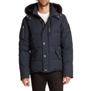 3Q Fur-Trimmed Puffer Jacket