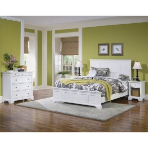 Naples Queen Bed, Nightstand, and Chest Bedroom Set by Home Styles | Overstock.com Shopping - The Best Deals on Bedroom Sets