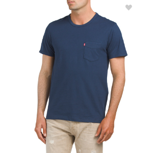 Short Sleeve Sunset Pocket Tee