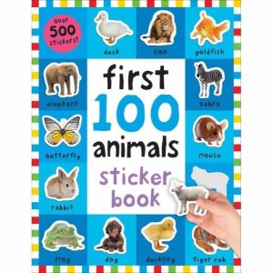 First 100 Animals Sticker Book: Over 500 Stickers - Walmart.com