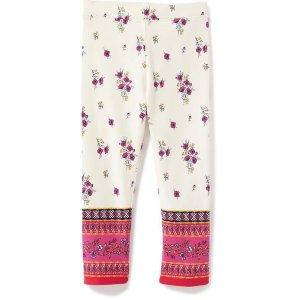 Printed Long Leggings for Toddler Girls