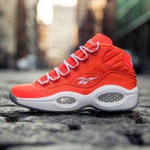 Reebok Question Mid Only The Strong Survive - Red