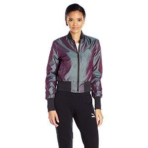 PUMA Women's Irridescent Bomber Jacket