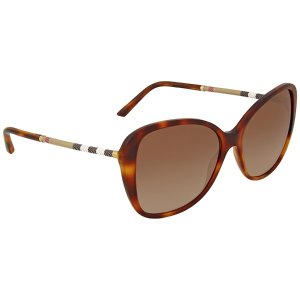 Burberry Brown Gradient Butterfly Sunglasses - Burberry - Sunglasses - Jomashop