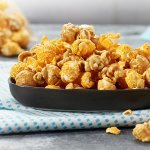 Wickedly Prime Sweet 'n' Cheesy Popcorn Mix, Caramel & Cheddar, 12 Ounce