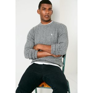 MARLOW CABLE CREW NECK SWEATER | JackWills US