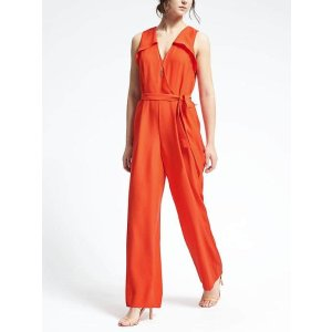 Red Jumpsuit | Banana Republic