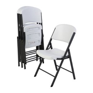 Lifetime Commercial Grade Contoured Folding Chair , Select Color - 4-Pack - Sam's Club