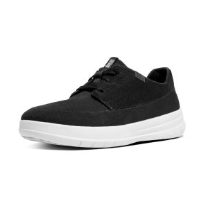 FitFlop Sporty-Pop Softy Canvas Sneakers Black