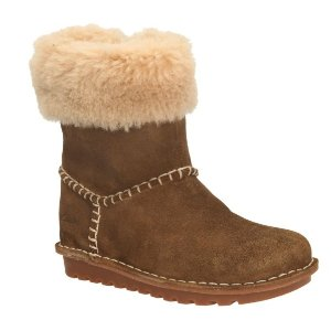 Greeta Ace Toddler Walnut Suede - Girls Boots - Clarks® Shoes Official Site
