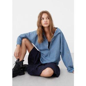 Oversize soft shirt - Women | OUTLET USA
