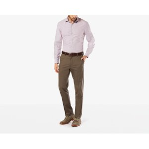 Signature Stretch Khaki, Slim Fit | DARK PEBBLE | Dockers® United States (US)