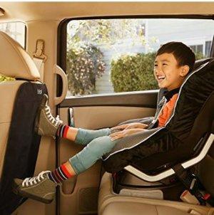 超低价~$9.67Brica 汽车座椅后背防踢垫2个装