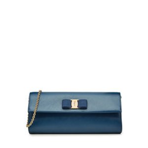Leather Shoulder Bag - Salvatore Ferragamo | WOMEN | US STYLEBOP.COM