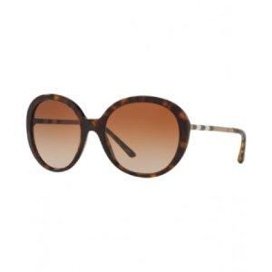 Burberry Brown Gradient Round Sunglasses - Burberry - Sunglasses - Jomashop