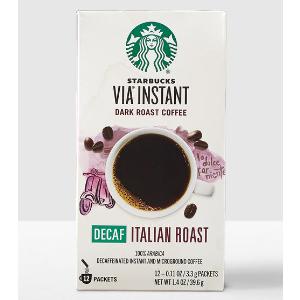 VIA® Ready Brew Decaf Italian Roast | Starbucks® Store
