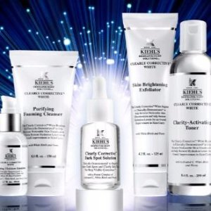 20% Off + a Skincare PouchClearly Corrective Collection @ Kiehl's