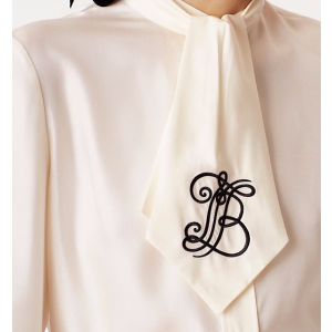 Tory Burch Jessica Bow Blouse
