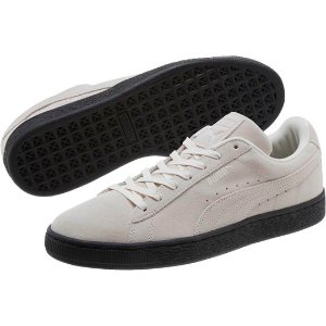 Suede Black Sole Men's Sneakers, buy it @ www.puma.com