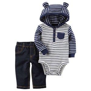 2-Piece Bodysuit Pant Set