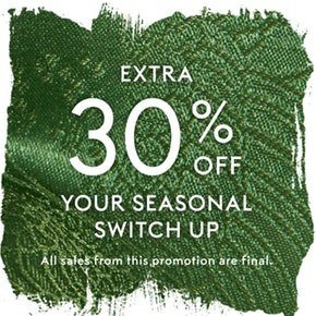 Up to 73% Off + Extra 30% OffStella McCartney, Fendi, Ganni & More @ THE OUTNET