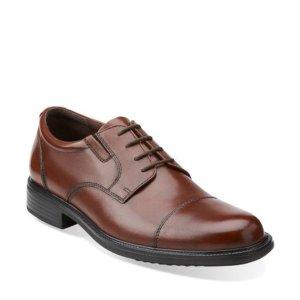 Clarks Bostonian Men's Bardwell Leather Dress Shoes