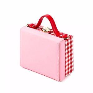 HIGH CHEEKS Color Block Trunk Bag