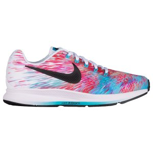 Nike Air Zoom Pegasus 34 - Women's - Running - Shoes - Chlorine Blue/Black/White/Racer Pink