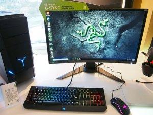 $2099.99Lenovo IdeaCentre Y900 雷蛇版(包含黑寡妇幻彩版机械键盘+Mamba竞赛版鼠标)