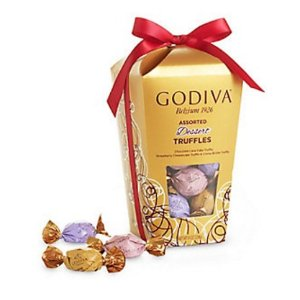 Wrapped Assorted Chocolate Truffles Gift Box