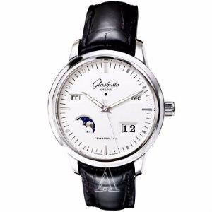 Glashutte Men's Senator Perpetual Calendar Watch Model: 100-02-13-02-04