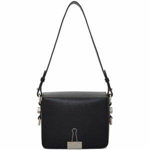 Black Binder Clip Bag