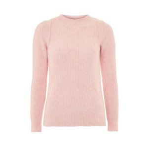 Pink Super Soft Crew Neck Jumper - New In Fashion - New In
