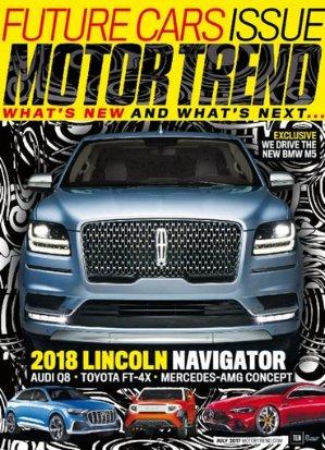 $12(原价$40)4年Motor Trend杂志订阅