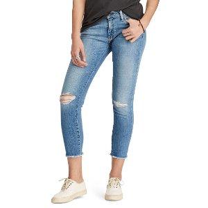 D&S Morgan Crop Skinny Jean - Skinny � Jeans - RalphLauren.com