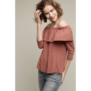 Charla Off-The-Shoulder Top | Anthropologie